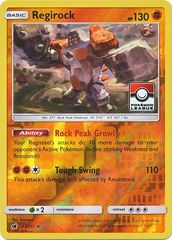 Regirock - 53/111 - Rare - Reverse Holo - Pokemon League Promo