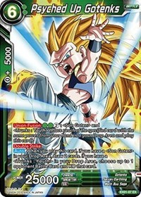 Psyched Up Gotenks (Foil) - EX01-07 - EX