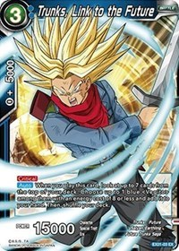 Trunks, Link to the Future - EX01-03 - EX