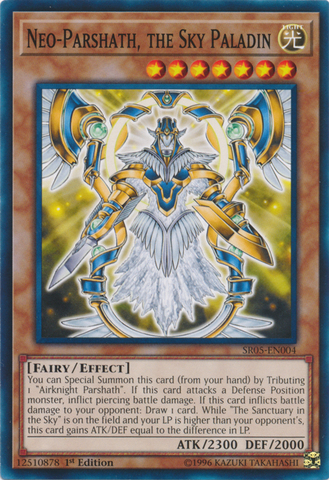 Neo parshath the sky paladin sr05 en004 common 1st edition light structure deck neo parshath the sky paladin sr05 en004 common 1st edition mozeypictures Images