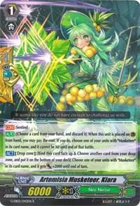 Artemisia Musketeer, Kiara - G-EB02/042EN - R
