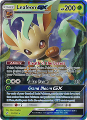 Leafeon GX - 13/156 - Ultra Rare