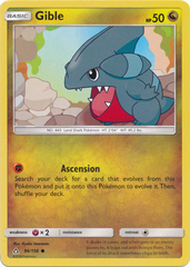 Gible - 96/156 - Common