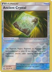 Ancient Crystal - 118/156 - Uncommon - Reverse Holo