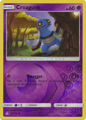 Croagunk - 56/156 - Common - Reverse Holo