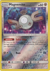 Magnemite - 81/156 - Common - Reverse Holo