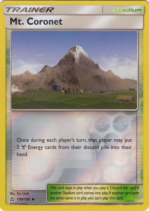 Mt. Coronet - 130/156 - Uncommon - Reverse Holo