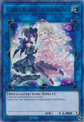 Clara & Rushka, the Ventriloduo - EXFO-EN049 - Ultra Rare - 1st Edition on Channel Fireball