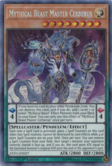 Mythical Beast Master Cerberus - EXFO-EN027 - Secret Rare - 1st Edition