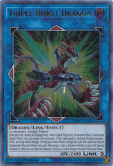 Triple Burst Dragon - EXFO-EN044 - Ultra Rare - 1st Edition
