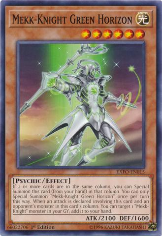 Mekk-Knight Green Horizon - EXFO-EN015 - Common - 1st Edition