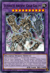 Ultimate Ancient Gear Golem - LED2-EN036 - Common - 1st Edition
