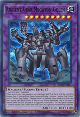 Ancient Gear Megaton Golem - LED2-EN031 - Super Rare - 1st Edition