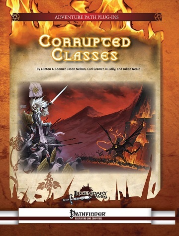 Corrupted Classes (Pathfinder)
