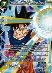 Ultra Instinct -Sign- Son Goku - BT3-033 - SR