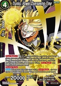 Trunks, Power Overseeing Time - BT3-111 - SR