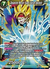 Desperate Warrior Super Saiyan Bardock - BT3-084 - SR