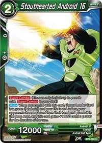 Stouthearted Android 16 (Foil) - BT3-068 - C