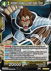 Hidden Power Great Ape Tora (Foil) - BT3-096 - UC
