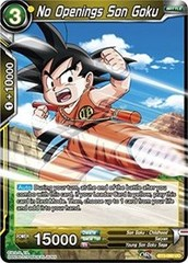 No Openings Son Goku (Foil) - BT3-090 - UC