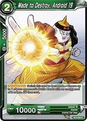 Made to Destroy, Android 19 (Foil) - BT3-066 - C