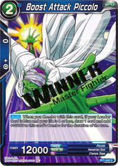 Boost Attack Piccolo (Winner Stamped) - BT1-045 - C