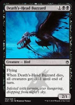 Deaths-Head Buzzard - Foil