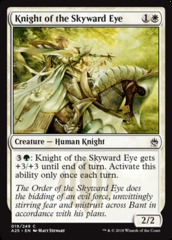 Knight of the Skyward Eye - Foil