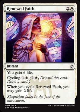 Renewed Faith - Foil