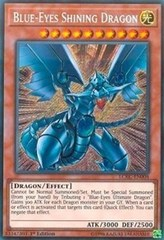 Blue-Eyes Shining Dragon - LCKC-EN008 - Secret Rare - 1st Edition