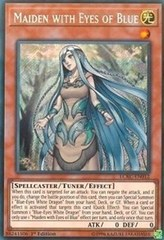 Maiden with Eyes of Blue - LCKC-EN012 - Secret Rare - 1st Edition