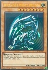 Blue-Eyes White Dragon (Blue) - LCKC-EN001 - Ultra Rare - 1st Edition