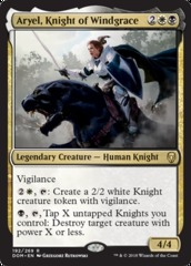 Aryel, Knight of Windgrace on Channel Fireball