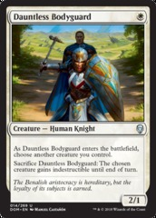 Dauntless Bodyguard - Foil