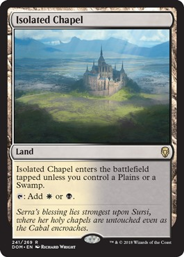 Isolated Chapel - Foil