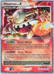 Heatran LV.X - 97/100 - Rare Holo
