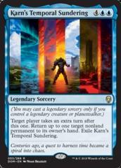 Karn's Temporal Sundering - Foil