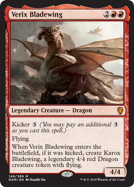 Verix Bladewing - Foil