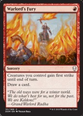 Warlord's Fury - Foil