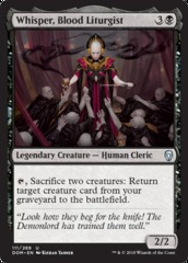 Whisper, Blood Liturgist - Foil