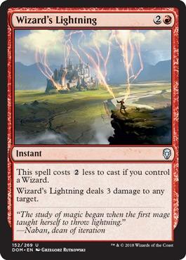 Wizards Lightning - Foil
