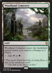Woodland Cemetery on Channel Fireball