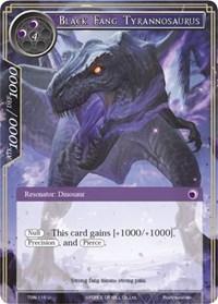 Black Fang Tyrannosaurus - TSW-116 - U