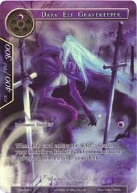 Dark Elf Gravekeeper (Full Art) - TSW-123 - U