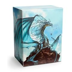 Dragon Shield - Deck Shell: Art Silver
