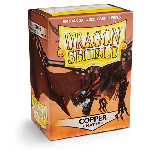 Dragon Shield Sleeves: Matte Copper (Box Of 100)