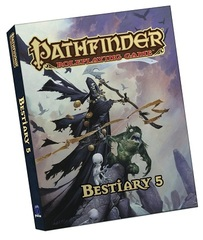 Pathfinder Role Playing Game: Bestiary 5 (Pocket Edition)