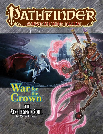 Pathfinder Adventure Path #132: The Six-Legend Soul (War Of The Crown 6 of 6)