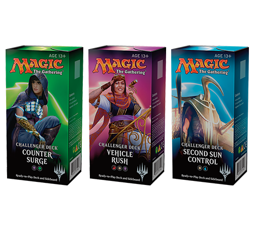 Challenger Decks (Set of 3 - No Hazoret Aggro)