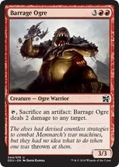 Barrage Ogre on Channel Fireball